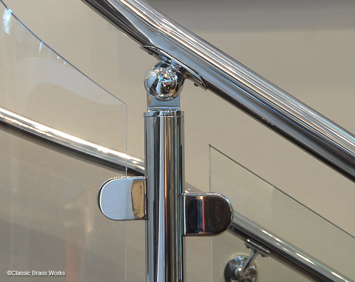Adjustable Saddle Railing