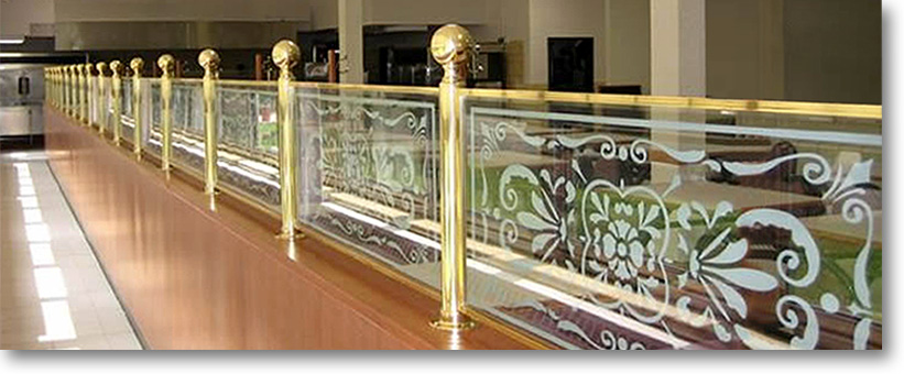 Cbw Partition Railings